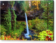 Autumn At North Falls Acrylic Print