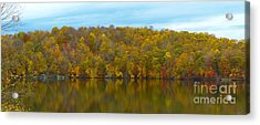 Acrylic Print featuring the photograph Autumn At Prettyboy by Donald C Morgan