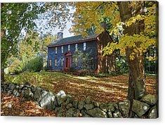 Autumn At Short House Acrylic Print