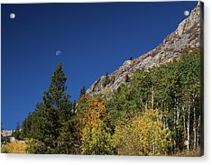 Acrylic Print featuring the photograph Autumn Bella Luna by James BO Insogna