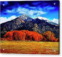 Autumn In Taos New Mexico Acrylic Print