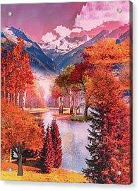 Autumn Landscape 1 Acrylic Print