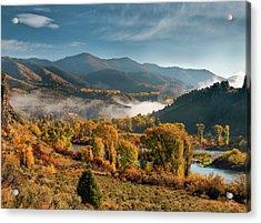 Autumn Light Along The Snake River Acrylic Print