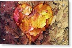 Autumn Love Acrylic Print