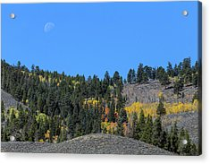 Acrylic Print featuring the photograph Autumn Moon by James BO Insogna