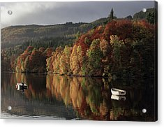 Acrylic Print featuring the photograph Autumn Morning by Grant Glendinning