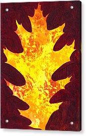 Autumn Oak 1 Acrylic Print