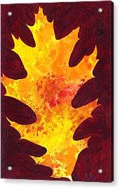 Autumn Oak 3 Acrylic Print