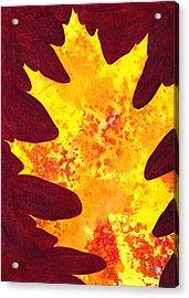 Autumn Oak 4 Acrylic Print