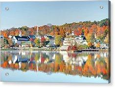 Autumn On Lake Winnipesaukee Acrylic Print