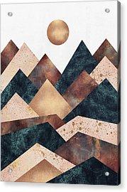 Autumn Peaks Acrylic Print