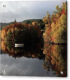 Acrylic Print featuring the photograph Autumn Reflections by Grant Glendinning