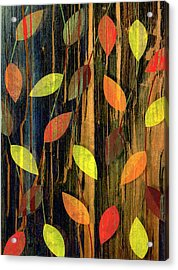 Autumn Season Leaves Acrylic Print by Jupiterimages