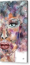 Autumn - Woman Abstract Art Acrylic Print