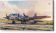 B-17g Sentimental Journey Acrylic Print