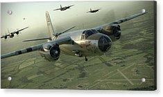 B-26 Feudin Wagin Acrylic Print