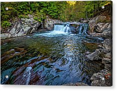 Acrylic Print featuring the photograph Baby Fall Pool by Andy Crawford
