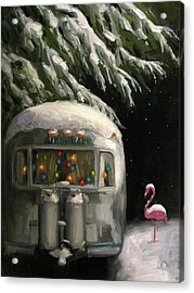 Baby, It's Cold Outside Acrylic Print