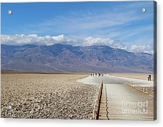 Badwater In Death Valley National Park Acrylic Print
