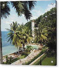 Bahamanian Hotel Acrylic Print