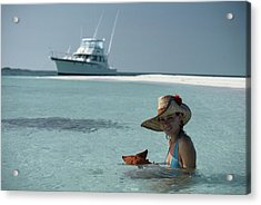 Bahamas Holiday Acrylic Print by Slim Aarons