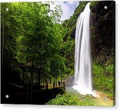 Baiyun Waterfall II Acrylic Print