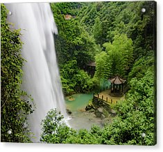 Baiyun Waterfall Acrylic Print