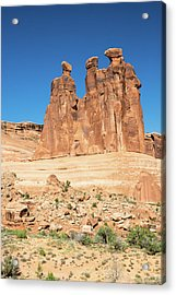 Balanced Rocks In Arches Acrylic Print