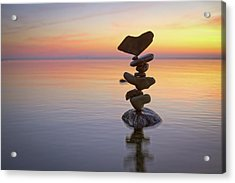 Balancing Art #1 Acrylic Print