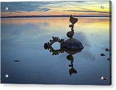 Balancing Art #10 Acrylic Print