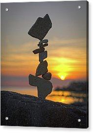 Balancing Art #12 Acrylic Print