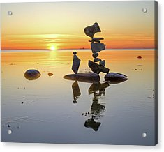 Balancing Art #14 Acrylic Print