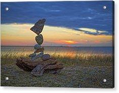 Balancing Art #17 Acrylic Print