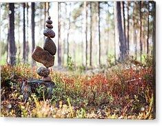 Balancing Art #20 Acrylic Print
