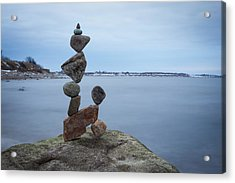 Balancing Art #28 Acrylic Print