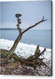 Balancing Art #29 Acrylic Print