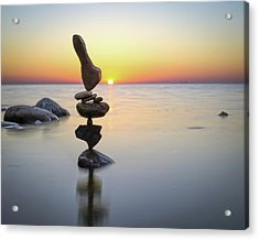 Balancing Art #3 Acrylic Print