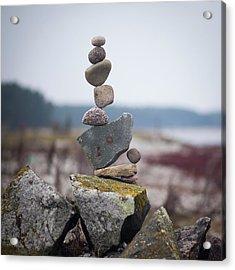 Balancing Art #30 Acrylic Print