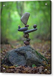 Balancing Art #34 Acrylic Print