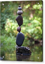 Balancing Art #37 Acrylic Print