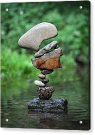 Balancing Art #40 Acrylic Print