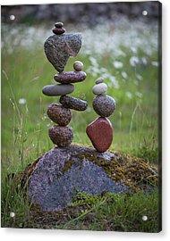 Balancing Art #45 Acrylic Print