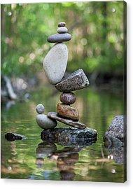 Balancing Art #47 Acrylic Print