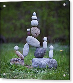 Balancing Art #49 Acrylic Print