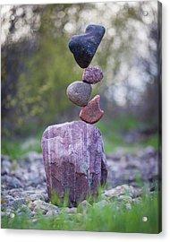 Balancing Art #50 Acrylic Print
