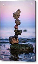 Balancing Art #51 Acrylic Print
