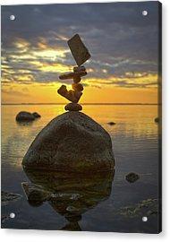 Balancing Art #52 Acrylic Print