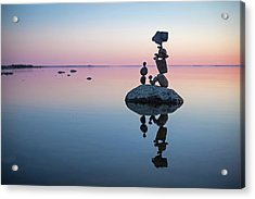 Balancing Art #65 Acrylic Print