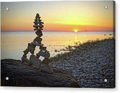 Balancing Art #66 Acrylic Print