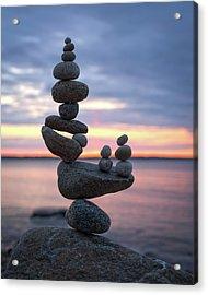 Balancing Art #67 Acrylic Print